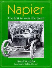 NAPIER - THE FIRST TO WEAR GREEN MOTOR RACING BOOK jm