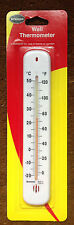 BRANNAN LARGE 215mm WALL THERMOMETER HOME OR GARDEN