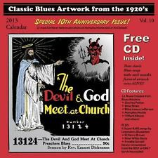 Classic Blues Artwork From The 1920s 2013 CALENDAR + CD NEW SEALED Charly Patton