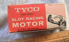 1960's Slot car inline motor TYCO 1/24 1/32 6V 901.398 MIB never used NICE!