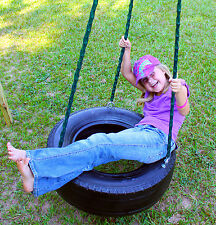 3 Chain Tire Swing with Swivel