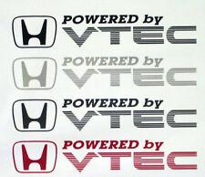 X2 propulsé par VTEC d'autocollants / stickers pour civic / crx / integra
