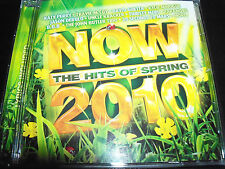 Now The Hits Of Spring 2010 CD Ft Kylie Minogue Katy Perry Paramore Cody Simpson
