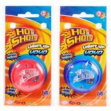 Hot Shots Light Up Yoyo Auto Return Kids Childrens Trick Yoyo Speed Mechanism