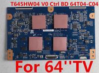 SAMSUNG UN65C8000 LED 3D HDTV T-CON BOARD T645HW04 VO Ctrl BD 64T04-C04