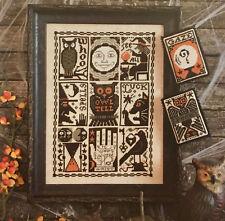 Hocus Pocus Halloween Prairie Schooler Cross Stitch Pattern Original 197