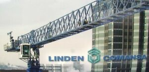 ROS 21LC290 Linden Comansa Tower Crane 1/87 HO Scale Die-cast Brand-new MIB