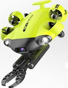 QYSEA FIFISH V6S Underwater Drone with Camera & Robotic Arm Claw. Factory Sealed