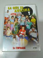 La Que Se Avecina Quinta Temporada 5 - 5 x DVD Region 2 - 13 Capitulos