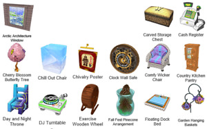 Webkinz virtual online items DELUXE MONTHLY, CHALLENGE, THEME items - you choose