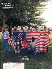 Trap & Field Magazine February 1988 Fox Valley Flag Winners EX w/ML 092716jhe