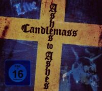 """CANDLEMASS """"ASHES TO ASHES (LIVE)"""" CD+DVD DIGIPACK NEW+"""