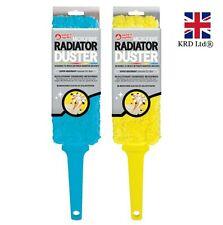 MICROFIBRE RADIATOR DUSTER Absorbant Blinds Shutter Washable Cleaner OT302787 UK
