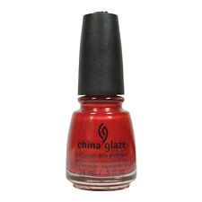 China Glaze Nail Polish Lacquer 70259 Go Crazy Red 0.5oz