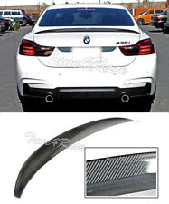 For 14-Up BMW F32 4 Series Carbon Fiber Rear Trunk Lip Spoiler Coupe 2Dr M Style