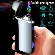 Windproof Flameless Rechargeable Electronic Lighter Touch Induction Cigarette