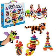 Bunchems Mega Pack +400 piezas Juguete Regalo haciendo Jewlery chicas chicos Navidad Diversión Nuevo