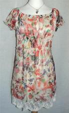 Topshop Party Floral Short Sleeve Dresses for Women
