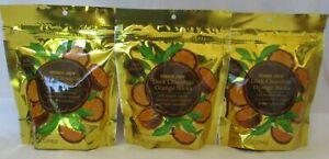 TRADER JOE'S DARK CHOCOLATE ORANGE STICKS 10-OZ - 3 PACKS