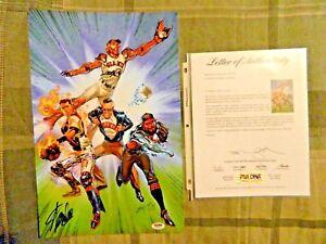 San Francisco Giants 2015 Superheroes and Comics Night Signed Stan Lee (PSA)