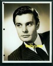 LOUIS JOURDAN VINTAGE 8X10 PHOTO  1947 PORTRAIT AFRED HITCHCOCK PARADINE CASE
