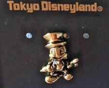 Disney Jiminy Cricket in Gold Relief pin