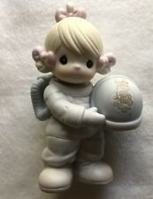 """Precious Moments Club 1991 Figurine, """"The Club Thats Out Of This World"""""""