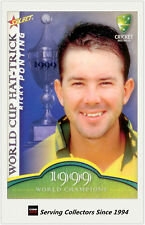 2007-08 Select Cricket Cards World Cup Hat Trick WSC11 Ricky Ponting
