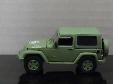 GREENLIGHT 2014 JEEP WRANGLER US ARMY LIGHT GREEN HOBBY EXCLUSIVE 1/64 SCALE