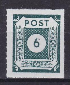 SBZ-Ostsachsen Nr. 43 B IIb postfrisch, geprüft BPP Ströh 6-Pfg.1945