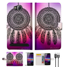 Dream Catcher Wallet TPU Case Cover For HUAWEI Y3 II 2 -- A027