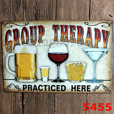 Vintage Metal Tin Signs Beer Wine Wall Plaque Poster Bar Pub Tavern Decor Art