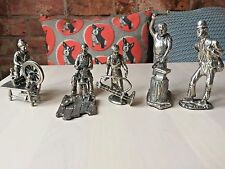 Pewter Figures A Set of Victorian Figures of difference trades-Collectors Item