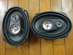 """Pyle PLX693 """"Wave"""" 6""""x9"""" 3-Way Auto Car Speakers 300 Watts! 6x9 3 Way"""