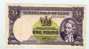 NEW ZEALAND - 1 pound KM# 159d Oceania banknote -#19