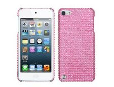 Pink Diamante Hard Plastic Cover Case Protector for Apple iPod Touch 5 5G