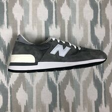 New Balance 990 Made In USA Mens Shoes Gray/White/Black Sneakers M990GRY Size 12