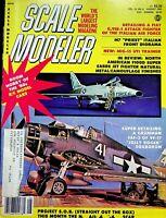 Vtg. Scale Modeler Magazine August 1980 Super Detailing a Grumman F6F-3 m87