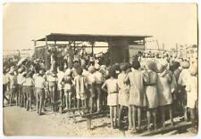 We build a Sukkah SUKKOT TEL AVIV OTTOMAN PALESTINE PHOTO 1920s / AVRAHAM SUSKIN