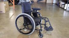 "TiLite Aero X Folding Manual Wheelchair - Matte Black 17"" x 17""  -  USED"