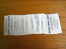 Lyons tea trade cards: HMS 1902-1962 non-descriptive advertisement back full set