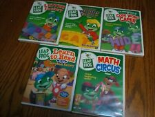 Lot Of (5) Leap Frog Learning Dvds * Letter Factory * Math * Phonics * Reading *