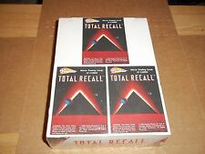 Total Recall movie cards unopened test box