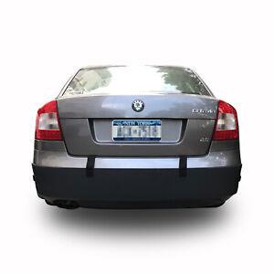 A12015 Black Universal Car Rear Bumper Guard, Bumper Protector for City Parking