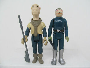 Yak Face & Blue Snaggletooth repro vintage-style Star Wars Stan Solo figures