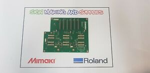 Genuine Roland Soljet Pro III XJ 640 Printer Print Carriage Board W700731310 *