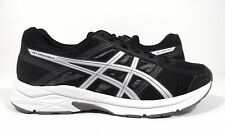 ASICS Men's Gel-Contend 4 Running Shoe Black/Silver/Carbon Size 10 EEEE
