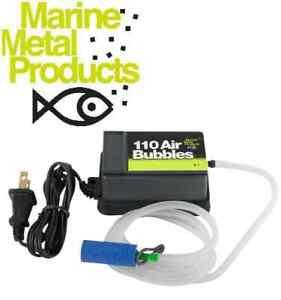 Marine Metal 110 AirBubbles 110-Volt AC Aerator 5-10 Gal. Air Pump A-1