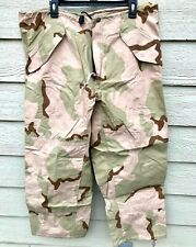 USGI ECWCS GORE-TEX COLD WEATHER DESERT CAMOUFLAGE PANTS - LARGE SHORT.
