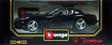 5 BURAGO DODGE VIPER RT 10 1992 NOIRE N°3065